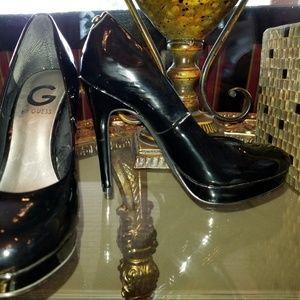 Women's Sz 5.5M Black G by Guess pumps heels